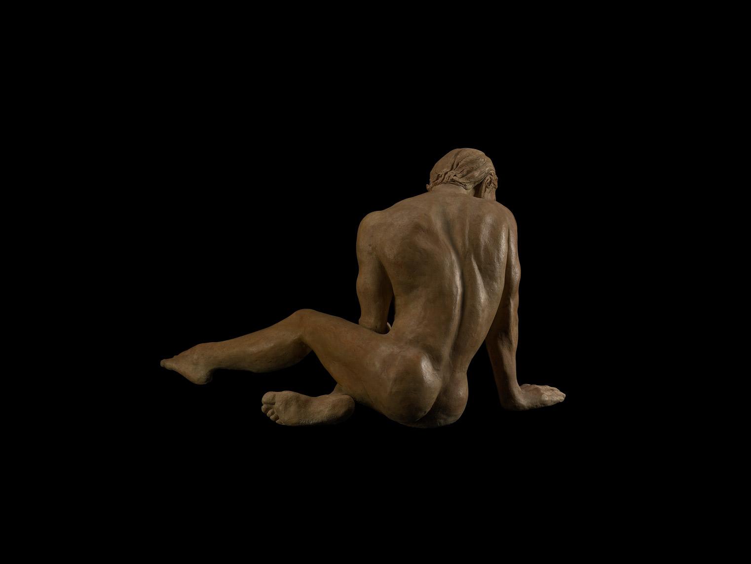 "Patty McFall ""Compassion"" Bronze 14x20x17"