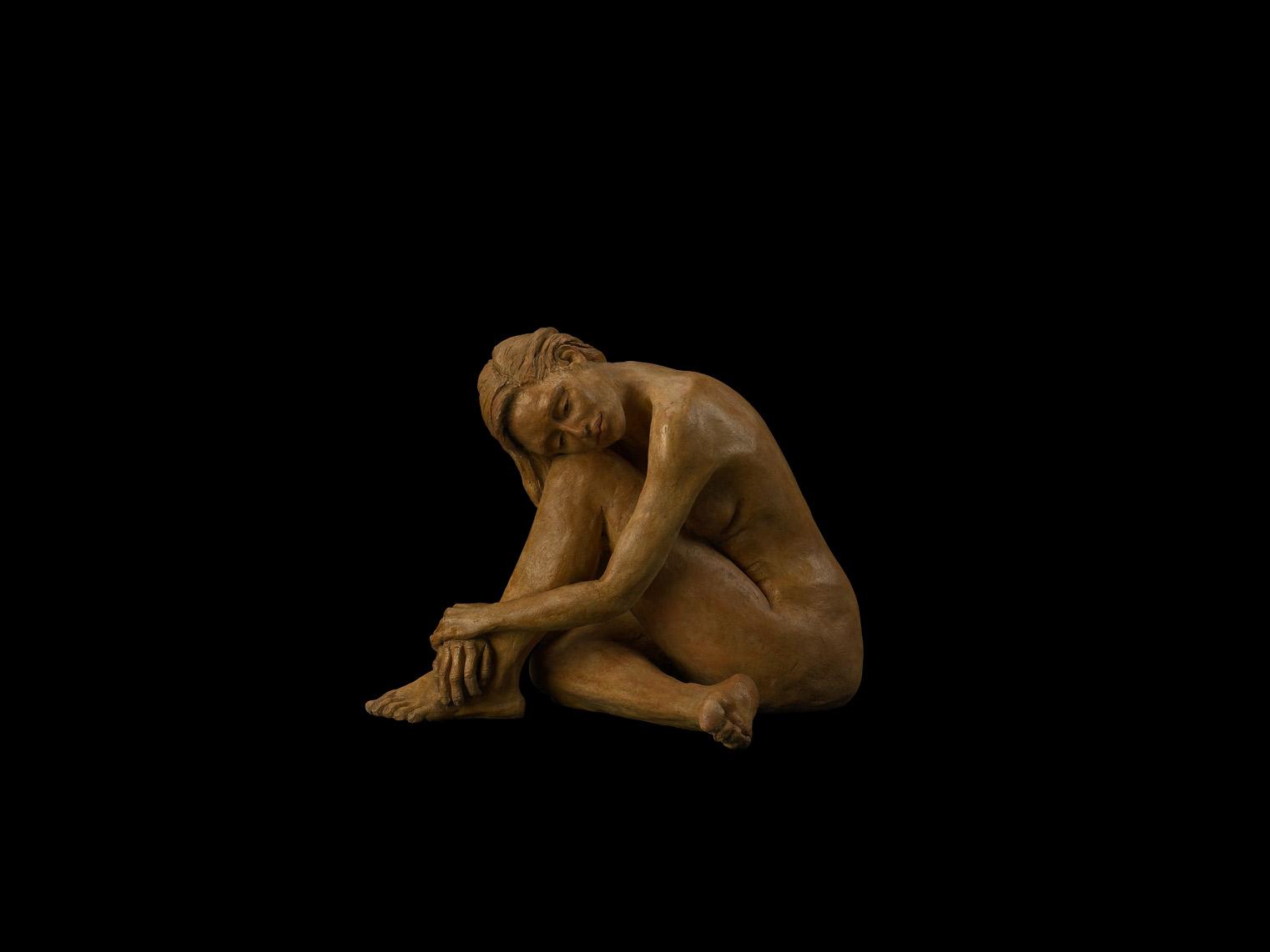 "Patty McFall ""Sorrow"" Bronze 10x14x12"