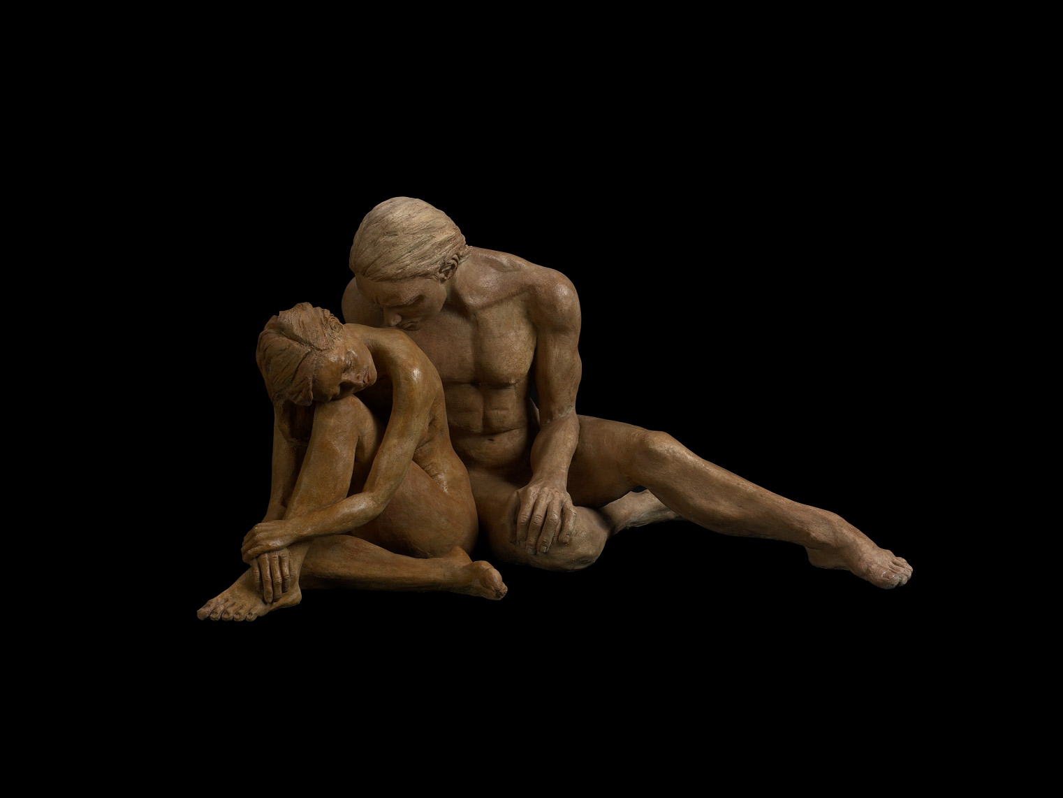 Sorrow-and-Compassion - Bronze