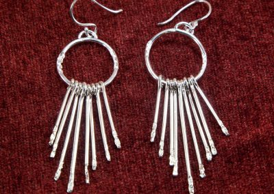 Sterling Cascade Earrings