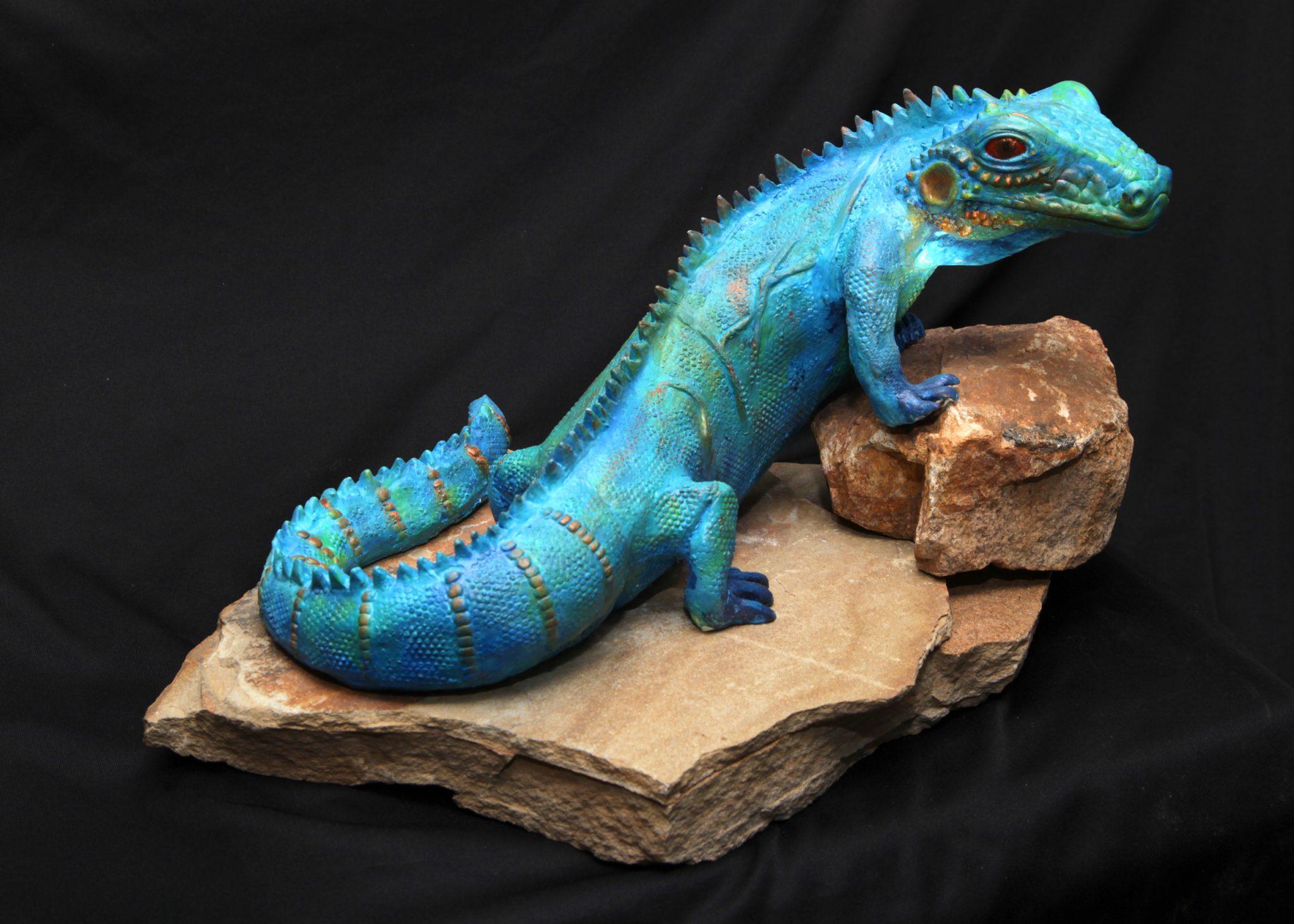 Blue Iguana Resin