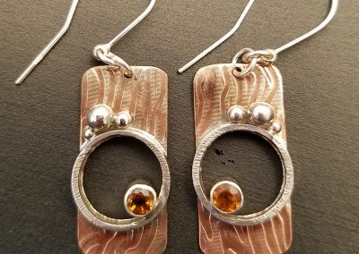 Copper, Sterling & Citrine
